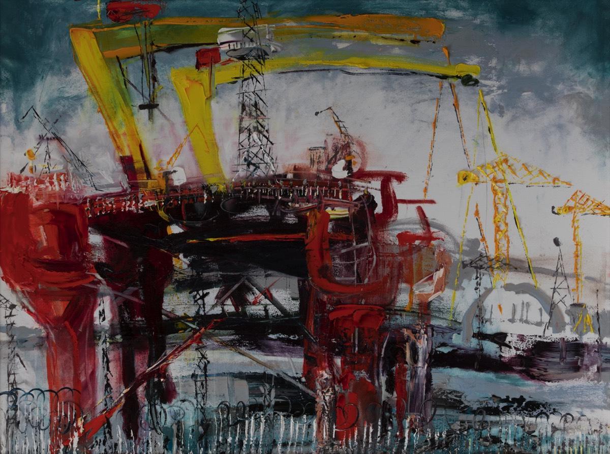 Oil rig belfast